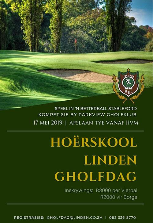 hoerskool-linden-gholf-dag-poster