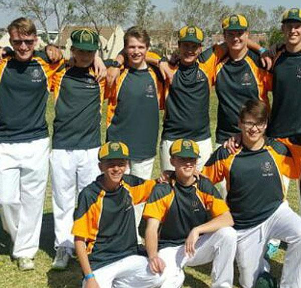 Hoerskool linden cricket team